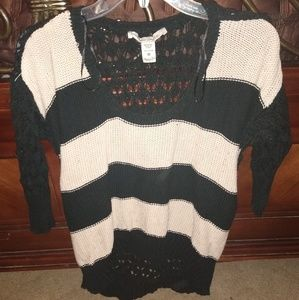 Cute knitted pull over sweater